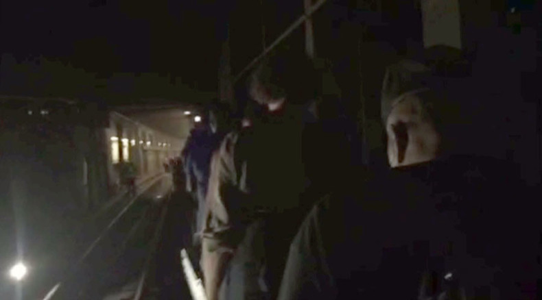 Dozens of passengers rescued from derailed subway car in Brooklyn (VIDEO)