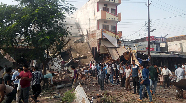 At least 104 dead in blast at packed Indian restaurant – officials