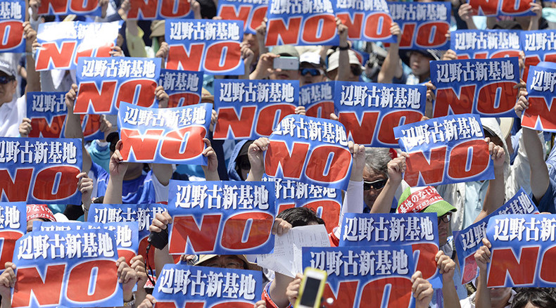 No compromise for Okinawa? Protests or not, work on US base in Japan resumes