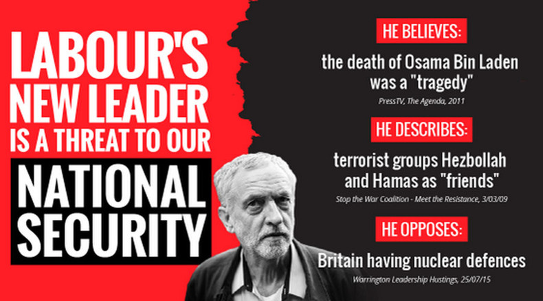'Threat to national security': Cameron leads Tory onslaught on Corbyn