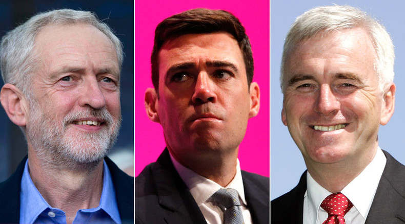 Labour leader Jeremy Corbyn announces shadow cabinet