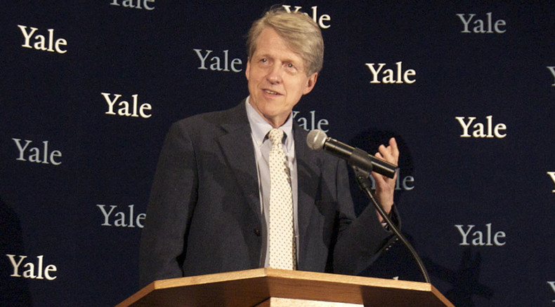 US financial bubble ready to burst - Robert Shiller