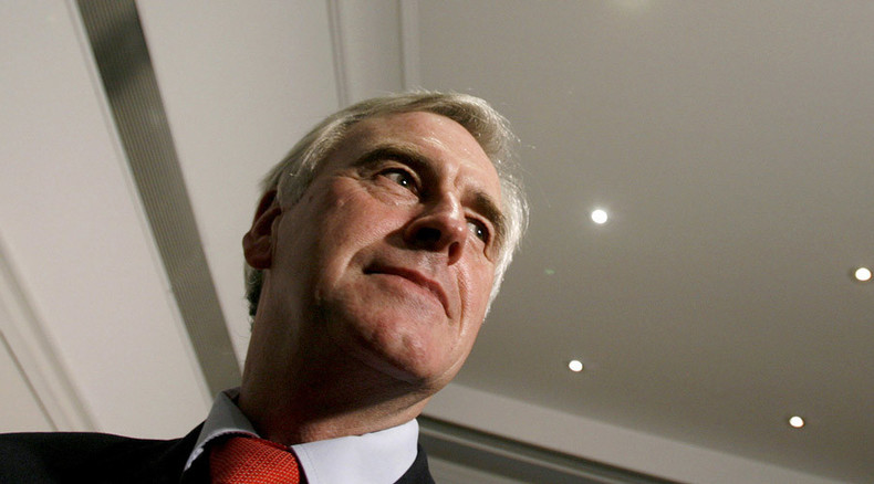'Puppet of imperialist powers': New shadow chancellor's verdict on the UN