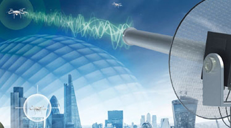 Anti-drone shield system revealed at London defense expo (VIDEO)