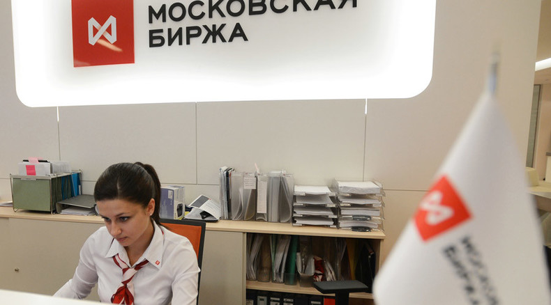 Russian Stock Exchange back on track after another hiccup