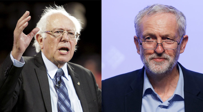 Bernie Sanders slams 'vicious attack' by pro-Clinton lobby group over Corbyn support