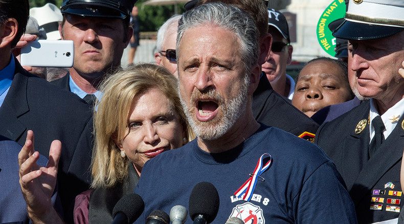 'Toxic levels of bulls**t': Jon Stewart urges Congress to renew 9/11 responders' benefits fund