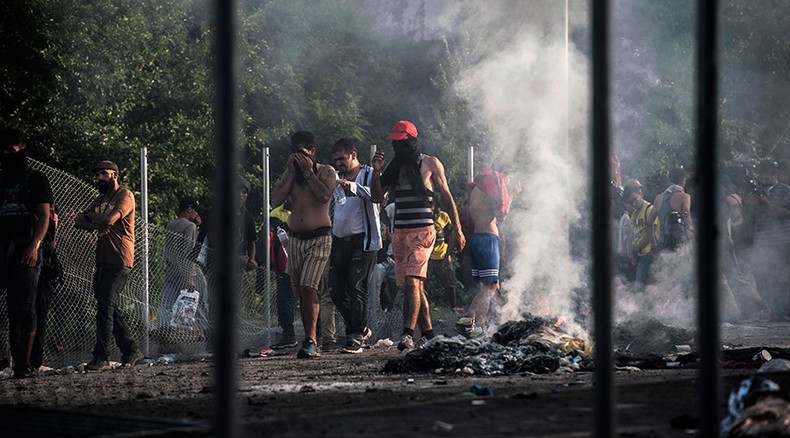 Hungary detains 29 asylum seekers including 'identified terrorist' in border clash