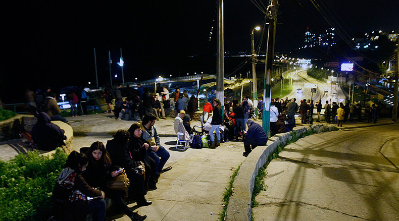 Huge 8.3 quake, over two dozen aftershocks shake Chile, trigger tsunami waves