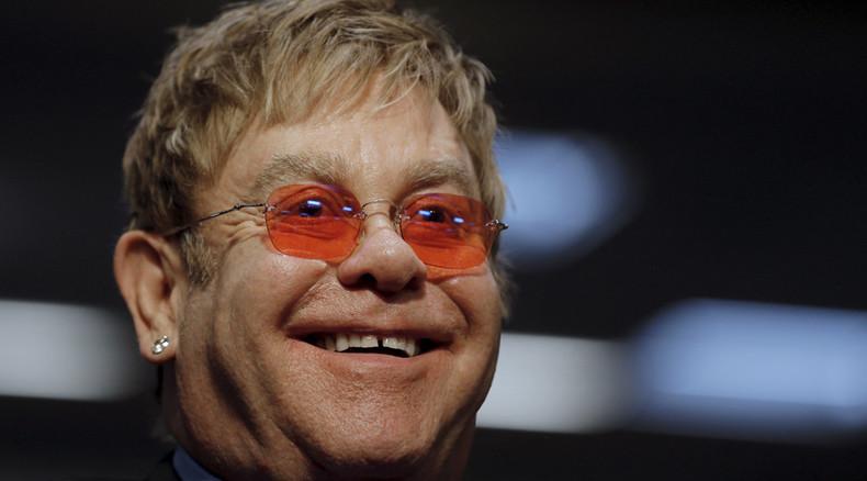 When 2 good men speak: Elton John prank exposed (AUDIO)