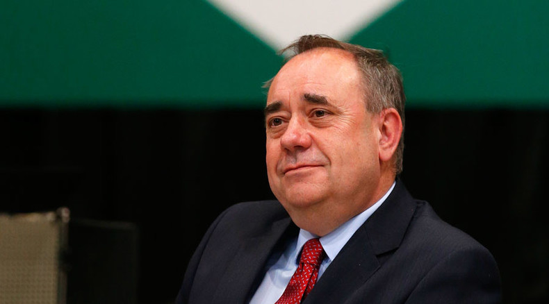 Alex Salmond to RT: 'UK govt stands condemned' on refugee crisis