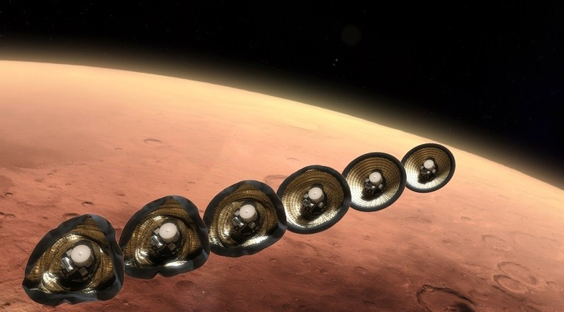 NASA seeks student ideas for landing massive cargo on Mars in one piece