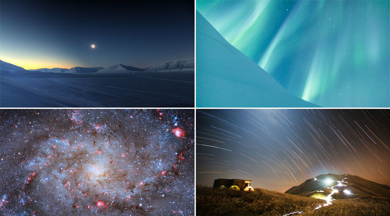 Out of this world: From total solar eclipse to stunning auroras, 15 best final frontier photos
