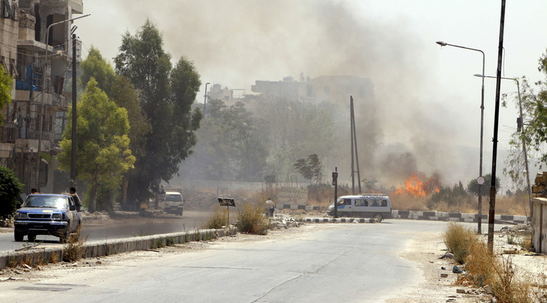 Ceasefire between government forces & militants begins in 3 Syria battlegrounds