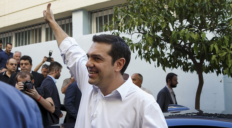 Greek snap election: New Democracy concedes defeat to Tsipras's leftist Syriza