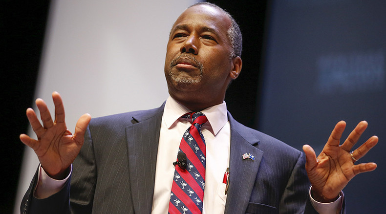 Muslim can't be elected US president, says GOP candidate Carson