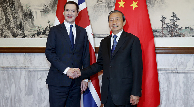 UK & China look to swap cash, stocks and investment
