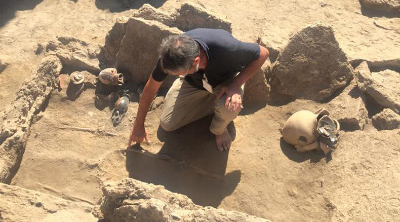 'Miracle': Ancient pre-Roman tomb unearthed in Pompeii, Italy, after 2,000yrs
