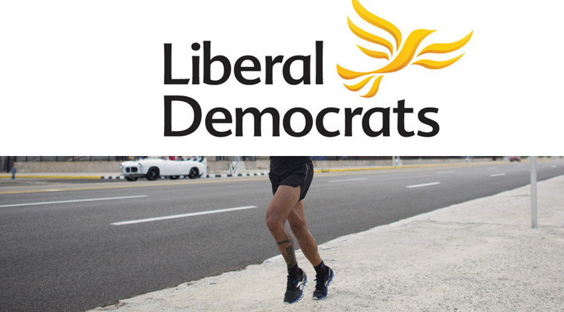 Lib Dem blogger offered £5,000 to run naked down Whitehall