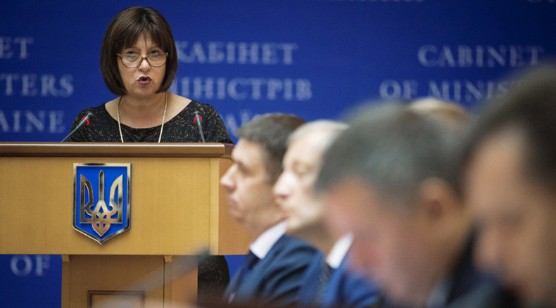Kiev pays for Russian gas with 'negotiations' – Ukraine finance minister