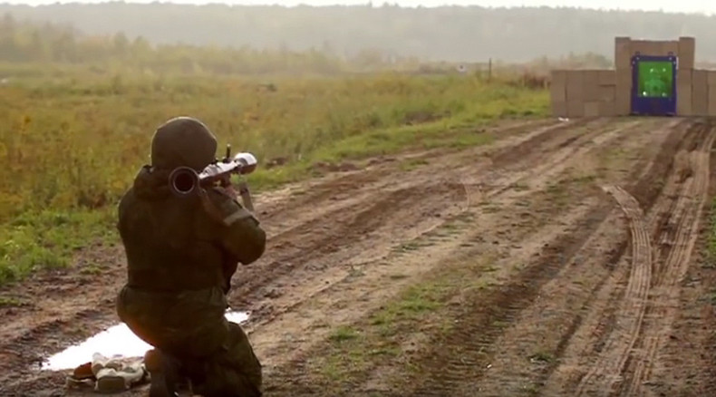 Why tanks have no windows: 40cm of bulletproof glass smashed by RPG (VIDEO)
