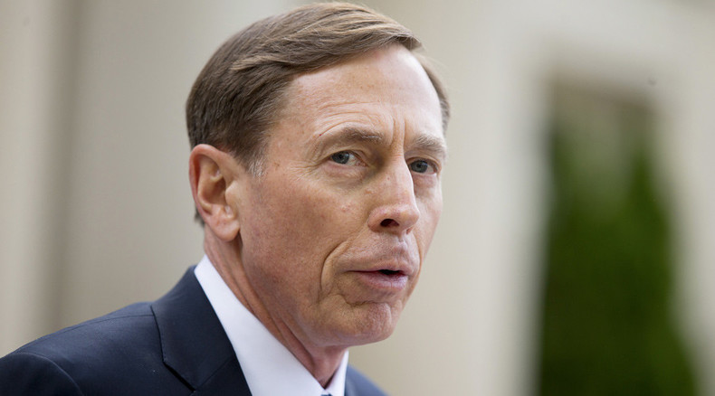 Petraeus recipe for battling ISIS: US-protected rebel enclaves in Syria, surge in Iraq