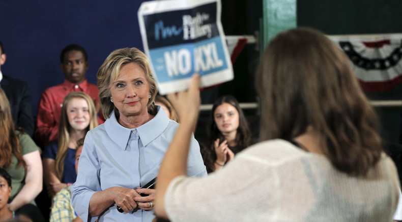 'I oppose it:' Hillary Clinton comes out against Keystone XL pipeline