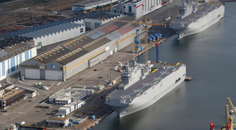 Egypt buys Mistral warships originally built for Russia from France