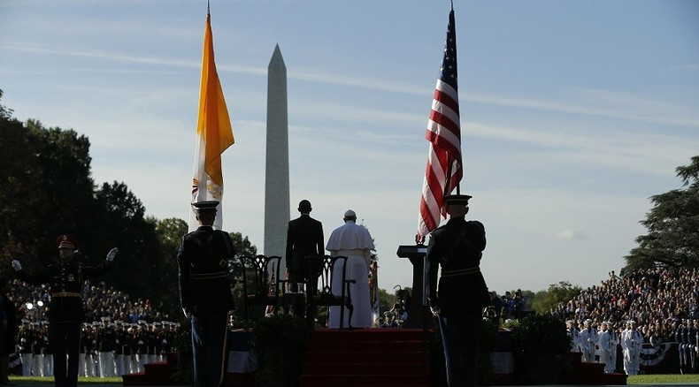 Pope Francis tours DC, pontificates on immigration & climate change (PHOTOS, VIDEOS)