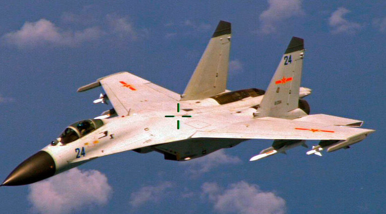 Pentagon complains of 'unsafe maneuver' by Chinese jet shadowing US spy plane