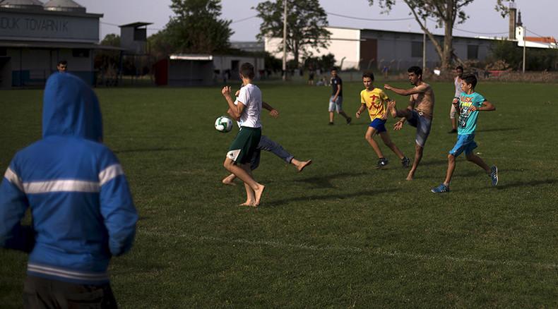 Sporting solidarity: Sports stars & teams aid refugees fleeing warzones