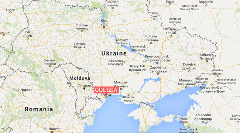 Powerful blast damages Ukrainian Security Service HQ in Odessa RT