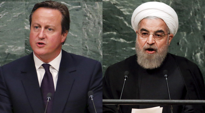 UN summit: Cameron to discuss reviving Syrian peace process with Iranian president