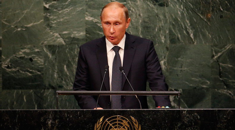 Violence instead of democracy: Putin slams 'policies of exceptionalism and impunity' in UN speech