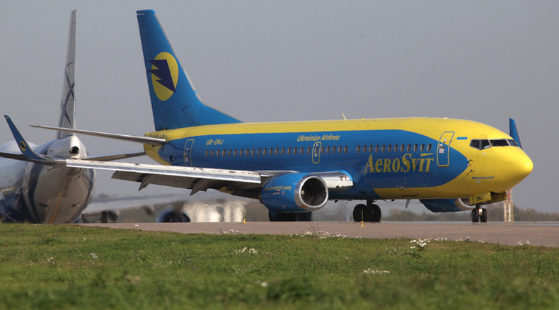 Russia closes sky to Ukraine in response to flight ban