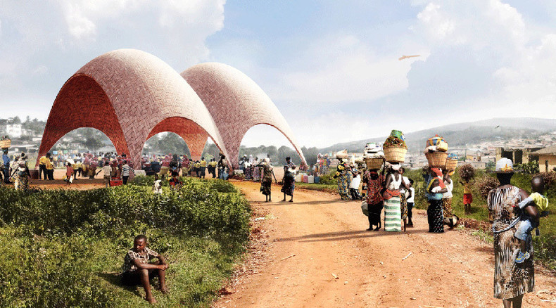 Droneports: Revolutionary cargo drone delivery system to be tested in Rwanda (IMAGES)
