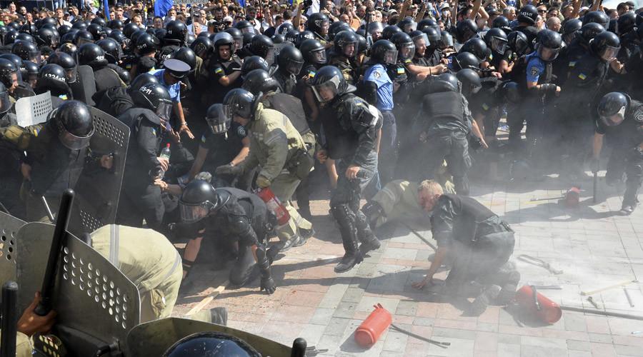 Ukraine's Right Sector volunteer battalion is illegal – Judge Advocate General