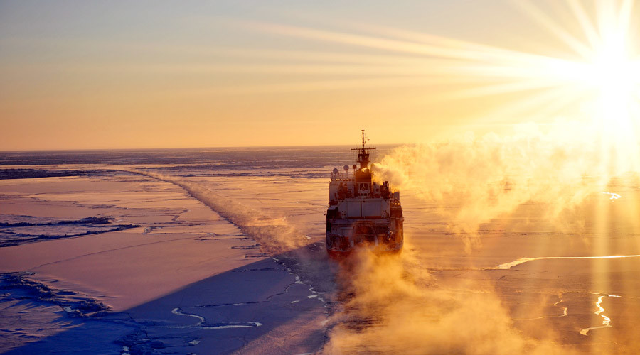 Obama vows to close 'icebreaker gap' with Russia