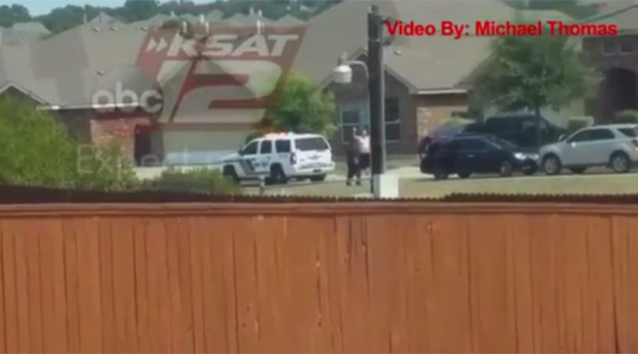 Texas cops tried taser on man shot with 'hands up', but probes 'did not connect' - sheriff