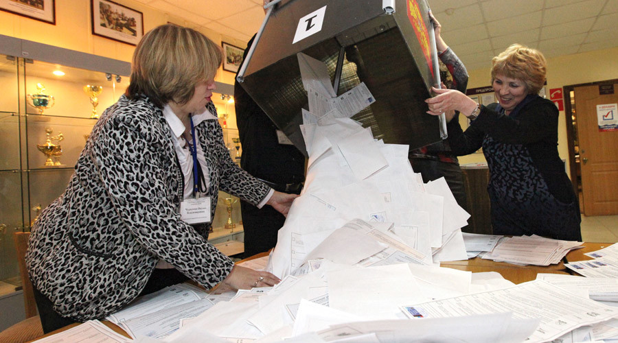 Half of Russians express readiness to vote in 2016 parliamentary poll