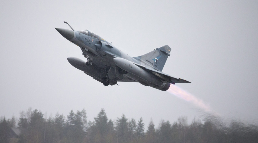 France carries out first airstrikes against ISIS in Syria
