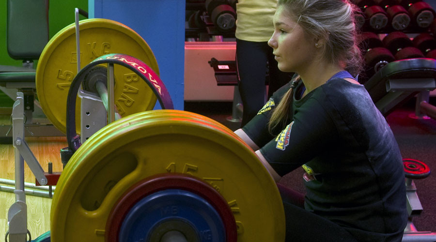 'World's strongest girl' visits Syria to meet Bashar Assad and his wife