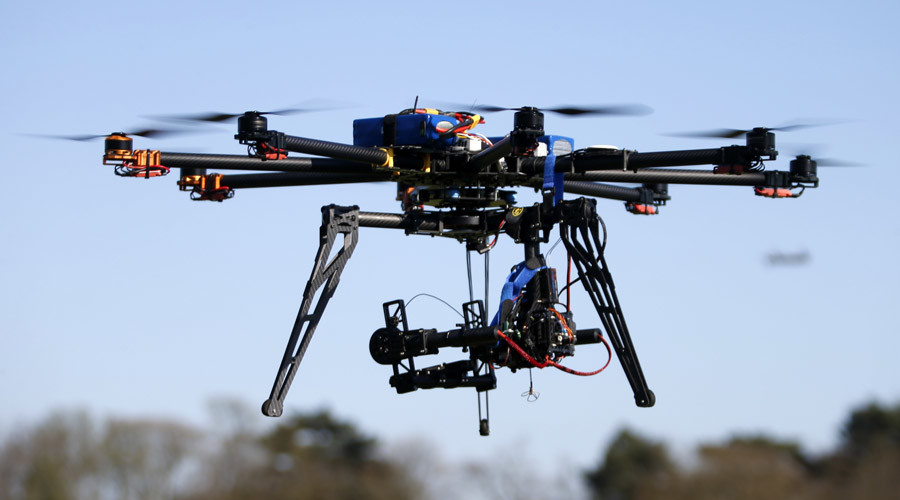 US police drones: 'Bit by bit people's rights to privacy taken away'