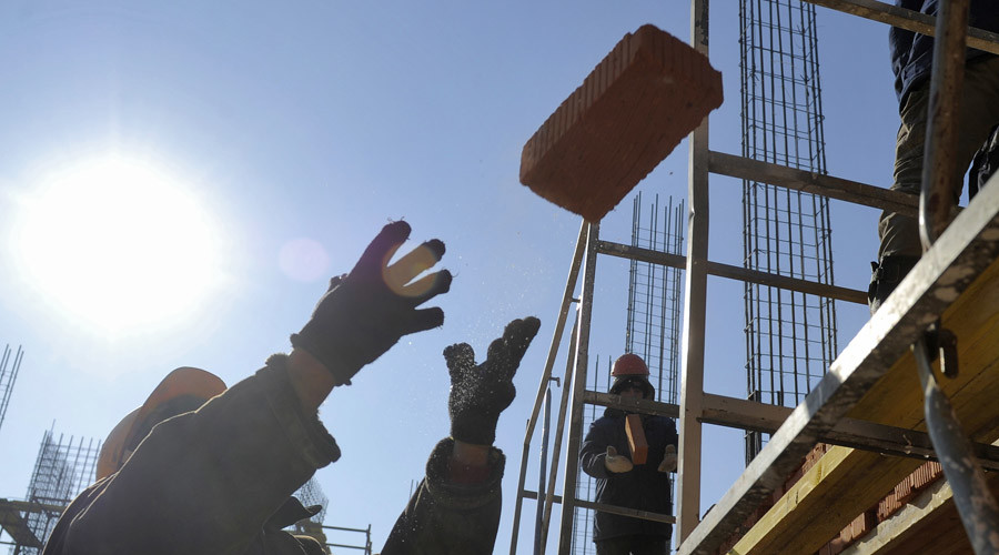 Russian factory pays workers in bricks