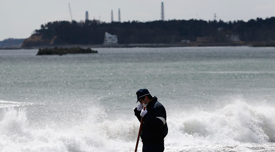 Fukushima leaks radioactive water after Typhoon Etau busts drainage system