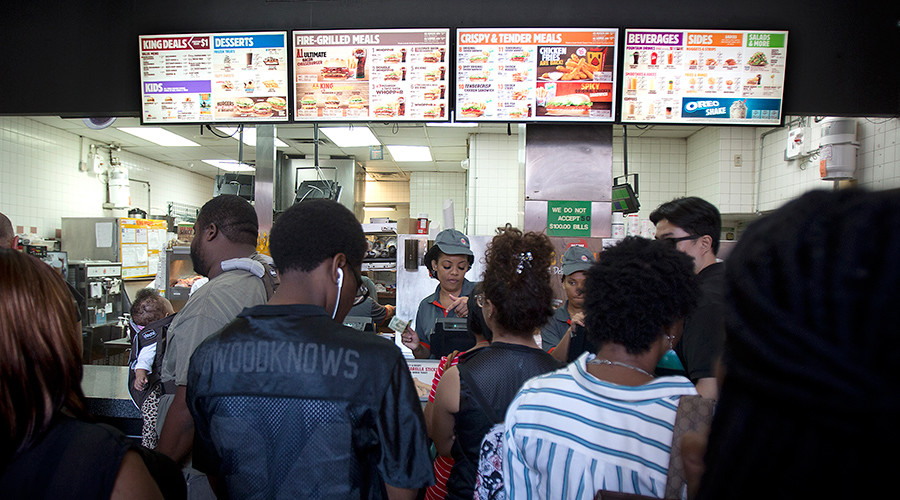 New York becomes first state in US to mandate $15 wage for fast food workers