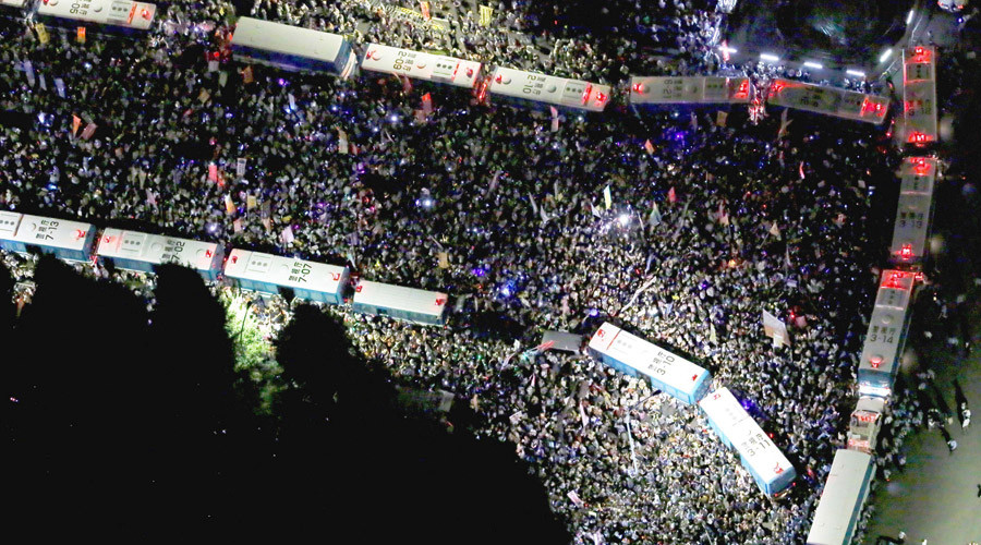 'Scrap war legislation!' Thousands protest Japan's unpopular new military doctrine