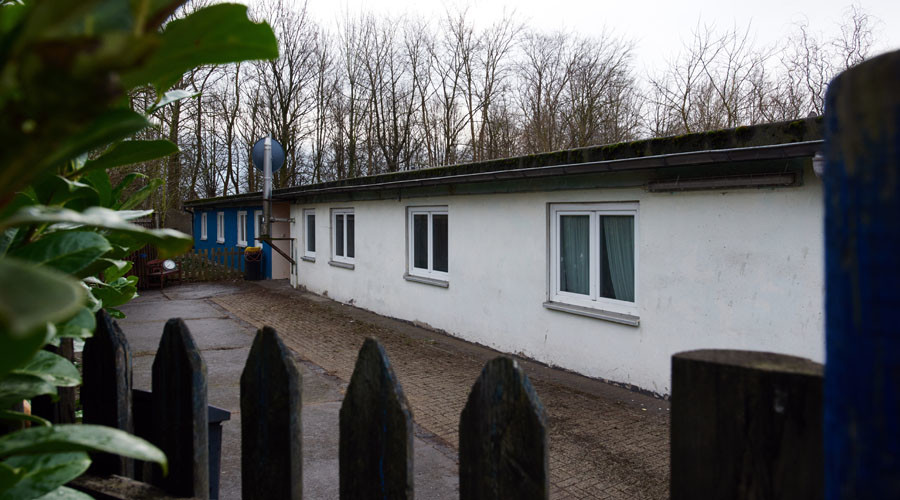 'Many don't even have this': Former sub-camp of notorious Buchenwald houses asylum seekers*