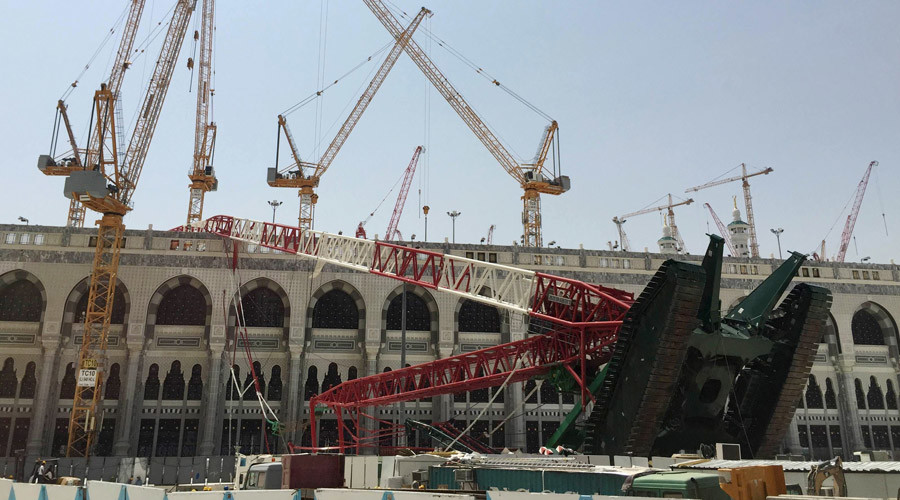 Saudi King suspends bin Laden's family construction firm after Mecca crane disaster
