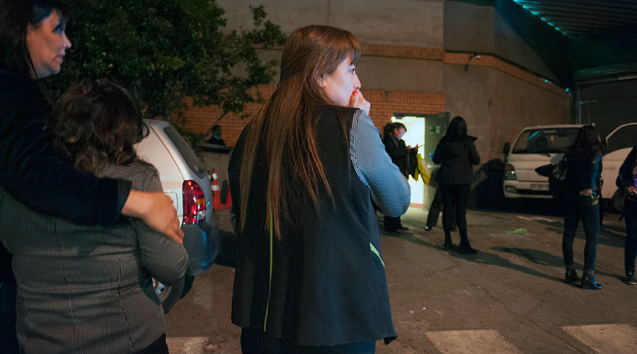 Chile mega-quake: 1mn evacuated, at least 10 dead & 20 injured
